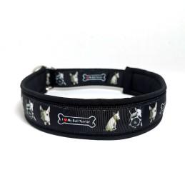 Halsbånd med navn/tekst MAX 50cm