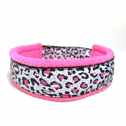 WHITE/PINK CHEETAH - bredt...